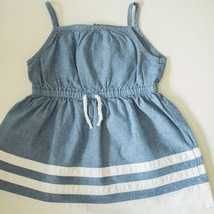 Baby girl jean summer dress 9M